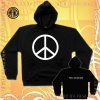 Bluza z kapturem PACYFKA Peace, love & music