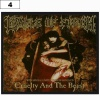 Naszywka CRADLE OF FILTH Cruelty and the Beast (04)