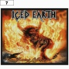 Naszywka ICED EARTH Burnt Offerings (07)