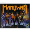 Naszywka MANOWAR Fighting the World (01)