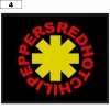 Naszywka RED HOT CHILLI PEPPERS logo (04)