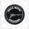 Plakietka ROCK METAL SOLDIERS (0052)